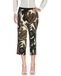 Satine Label - 3/4-length Trousers - Lyst