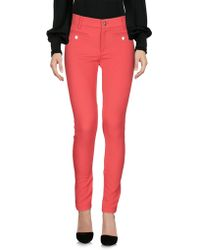 Versace Jeans - Casual Trousers - Lyst