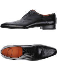 Santoni - Lace-Up Shoes - Lyst
