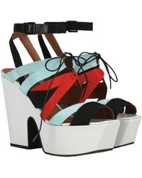 Emporio Armani - Sandals - Lyst