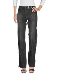 Roccobarocco - Denim Trousers - Lyst