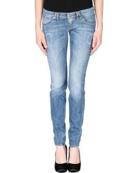 Bad Spirit - Denim Trousers - Lyst