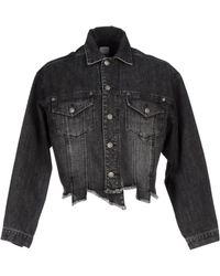 SJYP - Denim Outerwear - Lyst