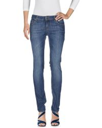 Dirk Bikkembergs Sport Couture - Denim Trousers - Lyst