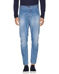 Yan Simmon - Denim Pants - Lyst