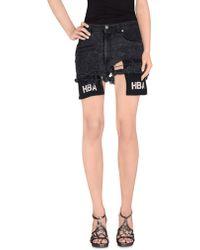 Hood By Air - Denim Shorts - Lyst