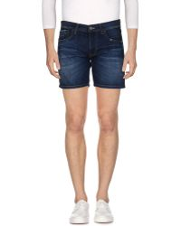Pepe Jeans - Denim Shorts - Lyst