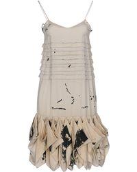 Pollini By Rifat Ozbek - Short Dresses - Lyst