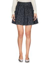 RED Valentino - Mini Skirt - Lyst