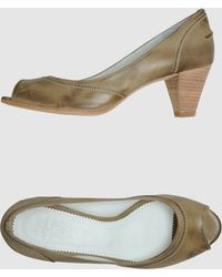 N.d.c. Made By Hand - Court Shoes With Open Toe - Lyst