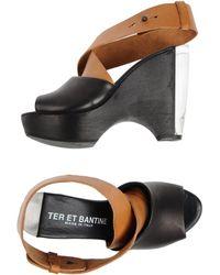 Ter Et Bantine - Platform Sandals - Lyst