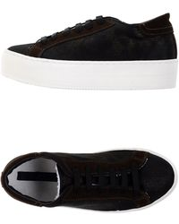 Blue Les Copains - Low-tops & Sneakers - Lyst