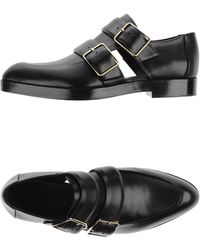 Alexander Wang | Buckled Leather Moccasins | Lyst