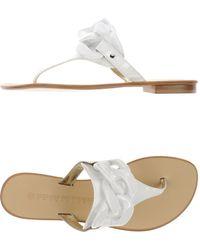 La Bottega Dell'artigiano - Thong Sandal - Lyst
