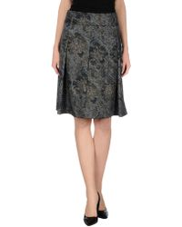 Brebis Noir - Knee Length Skirt - Lyst