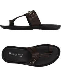 Fabiano Ricci - Toe Strap Sandal - Lyst