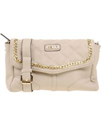 GAUDI - Chain-Trimmed Faux-Leather Clutch - Lyst