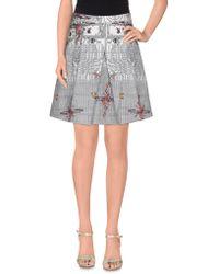 Piccione.piccione - Mini Skirt - Lyst
