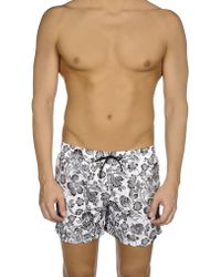 Obvious Basic - Beach Shorts And Pants - Lyst