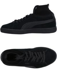 PUMA - Sneakers & Tennis shoes alte - Lyst