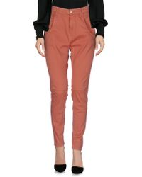 Manila Grace - Casual Pants - Lyst