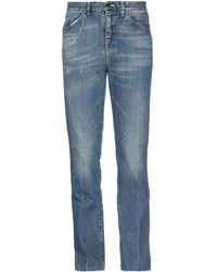 Golden Goose Deluxe Brand - Denim Trousers - Lyst