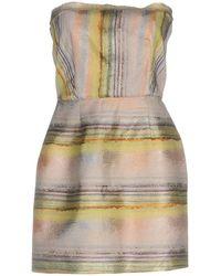 Bec & Bridge - Short Dress - Lyst