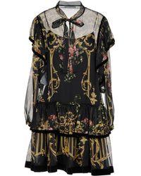 Alberta Ferretti - Short Dresses - Lyst
