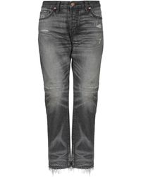 NSF - Denim Trousers - Lyst