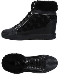 Guess - Sneakers & Tennis shoes alte - Lyst