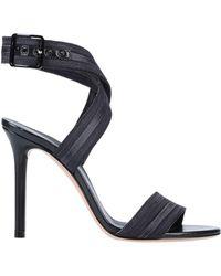 c1df6a2416 Lyst - Casadei Platform Sandals in Natural