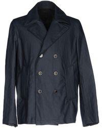 Versace - Overcoat - Lyst