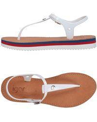 IGOR - Toe Strap Sandal - Lyst