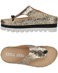 Luca Stefani | Toe Strap Sandals | Lyst