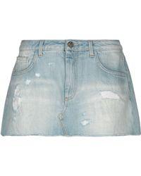 d86bb0b127fb Manila Grace - Denim Skirt - Lyst