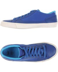 Alexander McQueen X Puma - Nubuck Leather Low-Top Trainers - Lyst