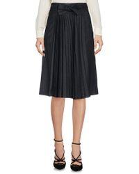 Henry Cotton's - Knee Length Skirt - Lyst