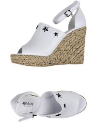 Armani Jeans - Espadrilles - Lyst
