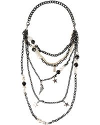 Boutique Moschino | Necklace | Lyst