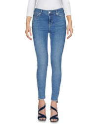 Vero Moda - Denim Trousers - Lyst