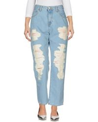 Vivienne Westwood Anglomania - Denim Trousers - Lyst