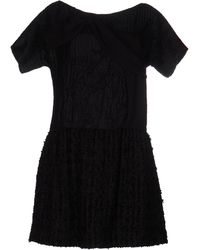 Michael van der Ham - Short Dress - Lyst