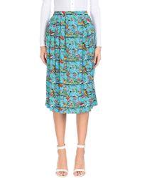 Emily and Fin - 3/4 Length Skirt - Lyst