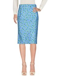 Prada - 3/4 Length Skirt - Lyst