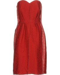 Lanvin - Short Dresses - Lyst