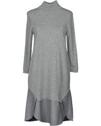 Lamberto Losani - Short Dress - Lyst