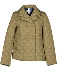 AT.P.CO - Synthetic Down Jacket - Lyst