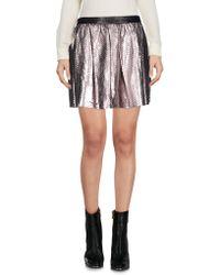 DROMe - Mini Skirt - Lyst