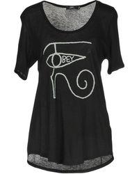 Obey - T-shirt - Lyst