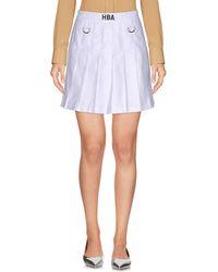 Hood By Air - Mini Skirt - Lyst